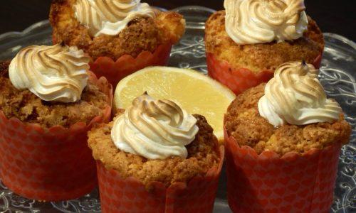 Cupcakes al lemon curd e meringa