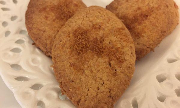 Biscotti avena e cocco